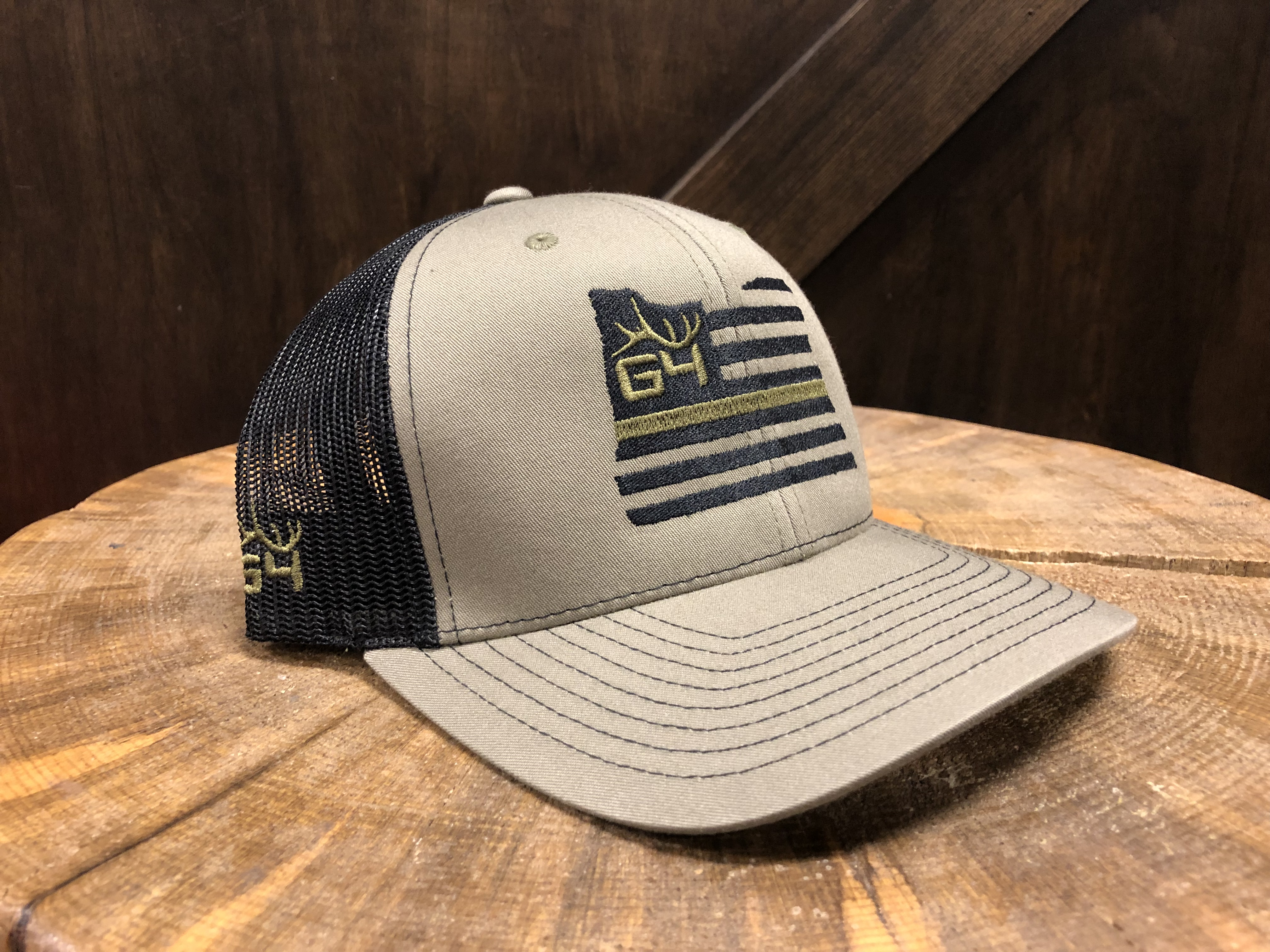 c43c4c82921 G4 Archery Classic Snap Back OD Green Oregon Flag Hat